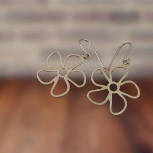 עגילי פרח