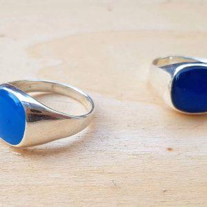 טבעת חותם כסף