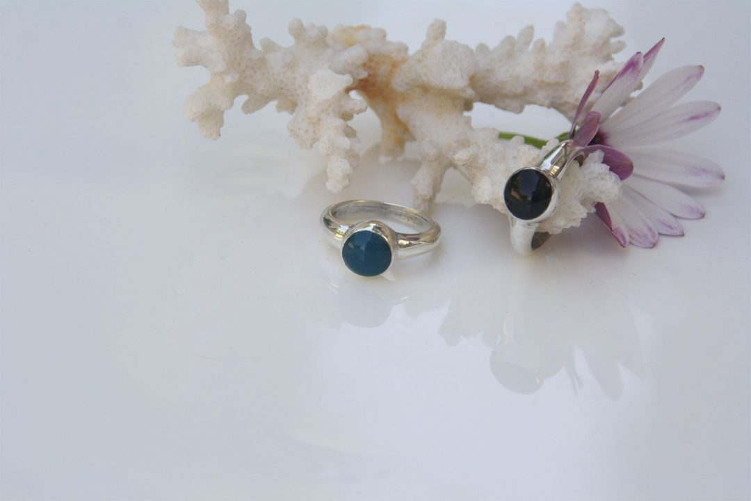 טבעת ראש צבע עגול