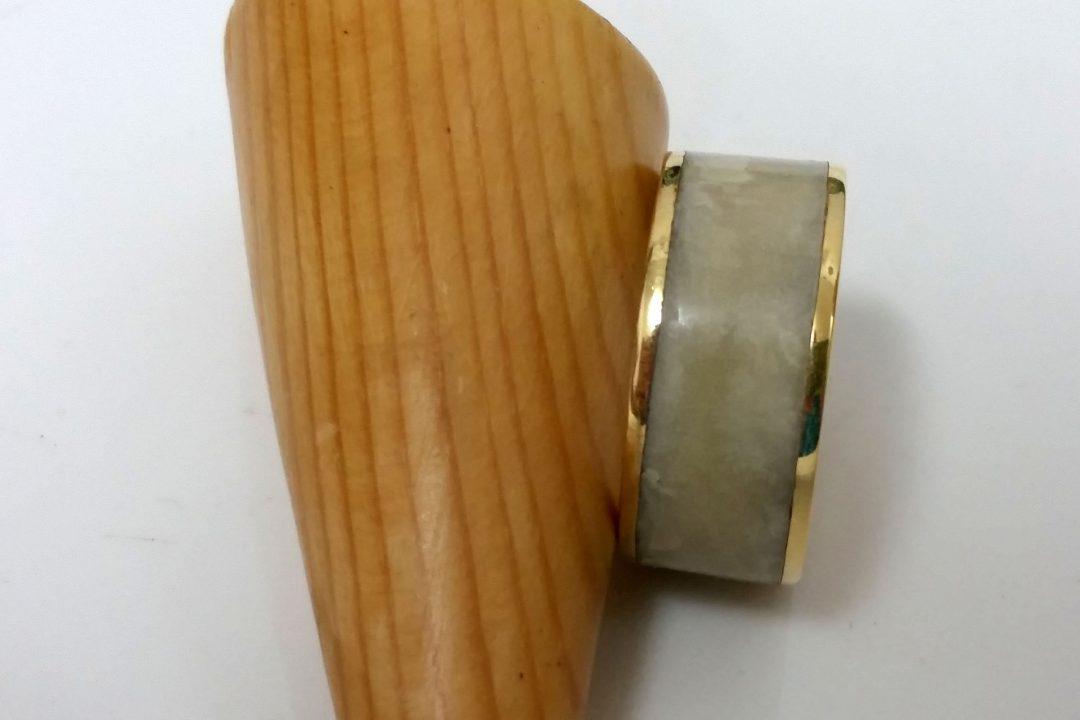 טבעת כולה צבע לבן
