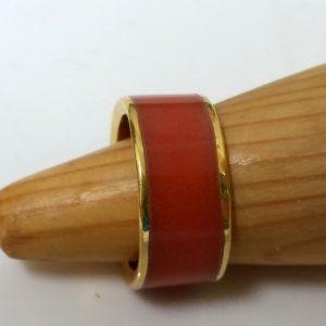 טבעת כולה צבע כתום